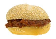 Slarviga joe sesam kärnar ur smörgåsen royaltyfri bild