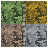 Slash Camouflage. An abstract seamless camouflage pattern in transparent colors. AI8-compatible transpareny effects. Repeat size is 6 Stock Photos