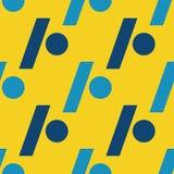 Slash dot seamless pattern. Strict line geometric pattern for your design Stock Photos