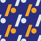 Slash dot seamless pattern. Strict line geometric pattern for your design Royalty Free Stock Photo