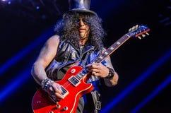 Slash (guitrarist/musician) Stock Photo