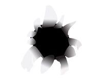 Slash  illustration. On white background Royalty Free Stock Image