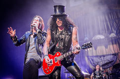 Slash and Myles Kennedy Stock Images