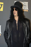 Slash on the red carpet. Velvet Revolver and former GnR guitarist Slash on the red carpet Royalty Free Stock Photo