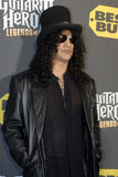 Slash on the red carpet Royalty Free Stock Image