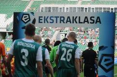 Slask Wroclaw vs Jagielionia Bialystok Royalty Free Stock Images