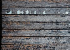 Slat brown wood texture background. Stock Photography