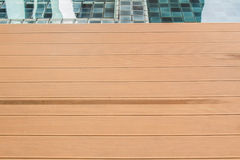 Slat floor of the pool. Royalty Free Stock Image
