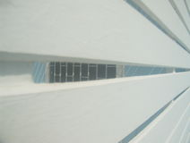 Slat wall. Royalty Free Stock Images