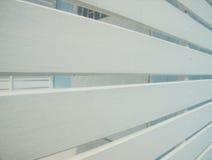Slat wall. Royalty Free Stock Photo