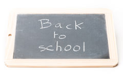 Slate board Back to school Royalty Free Stock Photography