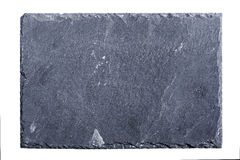 Slate board on white background Royalty Free Stock Images
