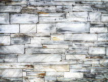 Slate brick wall Royalty Free Stock Photography
