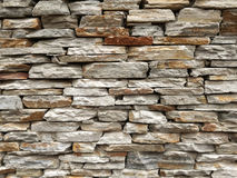 Slate Brick Wall royalty free stock image