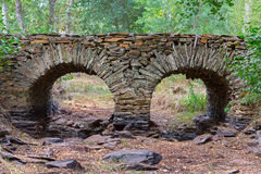 Slate bridge Stock Image