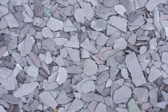 Slate chips background. Background of grey slate chips Royalty Free Stock Photography