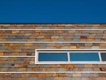 Slate facade. Stock Photos