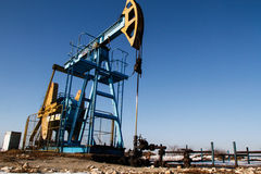 Slate gas or oil equipment Stock Photography
