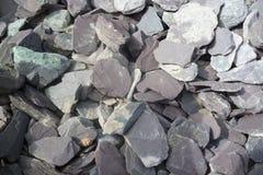 Slate gravel Royalty Free Stock Photo