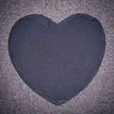 Slate heart Royalty Free Stock Image
