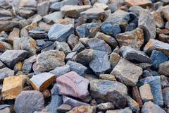Slate il suolo delle vigne di riesling in Mosella River Valley Immagine Stock Libera da Diritti