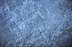 Slate la texture parquetant un choix populaire pour les salles de bains modernes Image stock