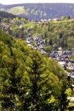 Slate las casas del valle Foto de archivo libre de regalías