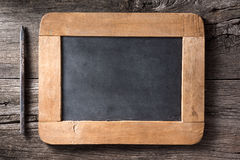 Slate and pencil Stock Photography
