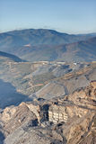 Slate Quarry. Located in Spain Royalty Free Stock Image