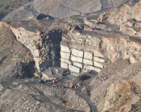 Slate Quarry Stock Photos