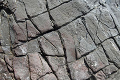 Slate rock layers stock photography