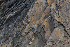 Slate Rock Wall Background Royalty Free Stock Photography