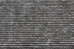 Slate Roof Background. Grey slate roof background image Royalty Free Stock Photography
