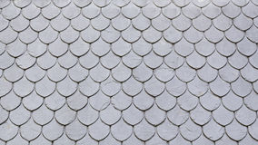 Slate roof in the city Stock Photos