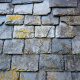 Slate roof detail Stock Photos
