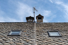 Free Slate Roof Detail Stock Images - 70346334