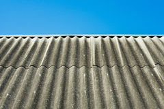 Slate roof Stock Photos