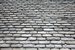 Slate roof tiles Stock Images