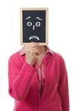 Slate and sadness Royalty Free Stock Image