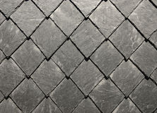 Slate shingles Stock Images