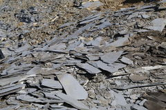 Slate slabs Royalty Free Stock Photo