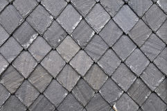Slate - Slate wall plates Stock Photos