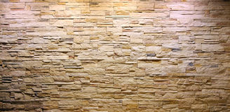Slate stone brick entirior wall Stock Images