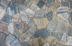 Slate stone pattern. Slate stone floor and wall texture in random size pattern background stock photography