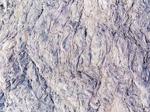 Slate stone surface in the mountains near Muscat, Oman stock images