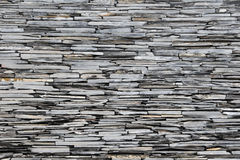 Slate Stone Wall Royalty Free Stock Photo