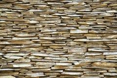 Slate Stone Wall Stock Image