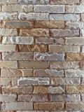 Slate stone wall Stock Photography