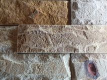 Slate stone wall Royalty Free Stock Images