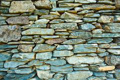 Slate stone wall Stock Photo